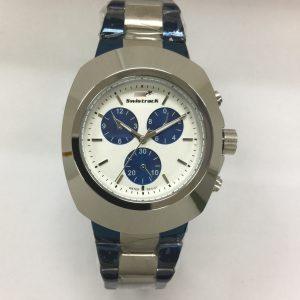 Swistrak Watch Blue & Silver