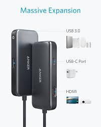 Anker USB C Hub, 3-in-1 Type C Hub